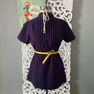 Vintage   horizontal striped shirt/dress